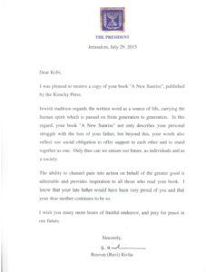 Letter from President 10